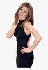 Black dress white background .png