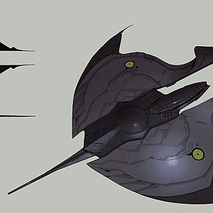 Unknown Dropship/Fighter