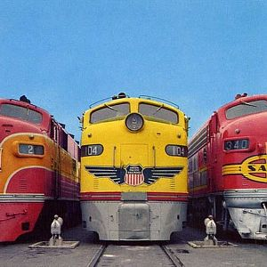 Famous Streamlned Diesels