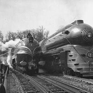 European And American Streamlined Steam