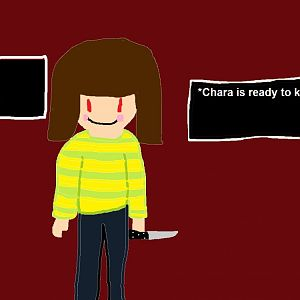 Undertale Chara Opponent Screen