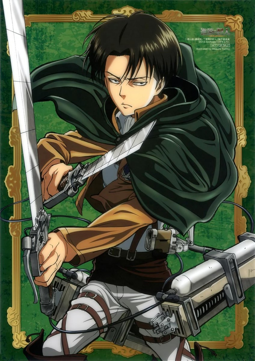 Shingeki No Kyojin Wallpaper Levi Jpg Rpnation
